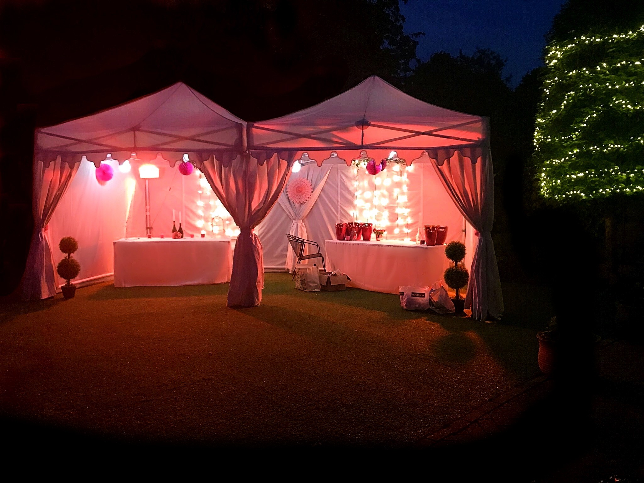 3m Wide Marquees